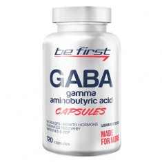 GABA Capsules Be First (120 капсул) гамма аминомасляная кислота