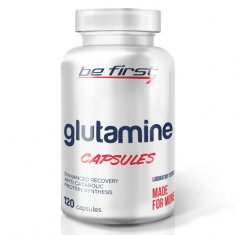 Glutamine Capsules Be First (120 капсул) глютамин