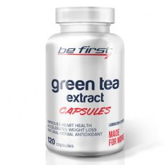 Green Tea Extract Capsules Be First (120 капсул) зеленый чай экстракт