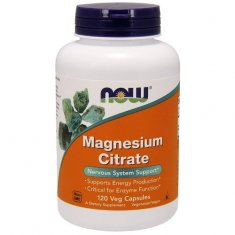 Magnesium Citrate NOW (120 капсул) магний