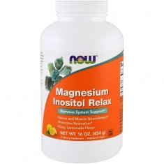 Magnesium Inositol Relax NOW (454 г) магний и инозитол