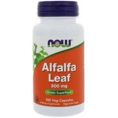 Alfalfa Leaf NOW (100 капсул) люцерна