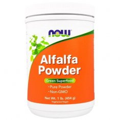 Alfalfa Powder NOW (454 г) люцерна