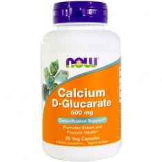 Calcium D-Glucarate NOW (90 капсул) глюкарат кальция