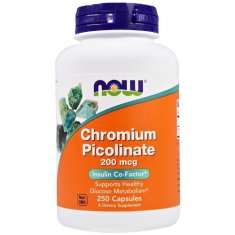 Chromium Picolinate NOW (250 капсул) пиколинат хрома