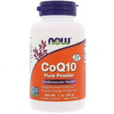 CoQ10 Pure Powder NOW (28 г) коэнзим Q10