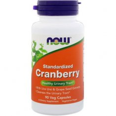 Cranberry Standardized NOW (90 капсул) экстракт клюквы