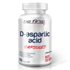 D-Aspartic Acid Capsules Be First (120 капсул) Д-аспарагиновая кислота