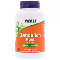 Dandelion Root NOW (100 капсул) корень одуванчика