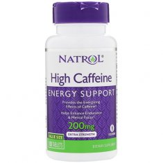 High Caffeinee Natrol (100 таблеток) кофеин