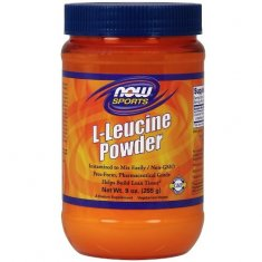 L-Leucine Powder NOW (255 г) L-лейцин