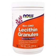 Lecithin Granules NOW (454 г) соевый лецитин