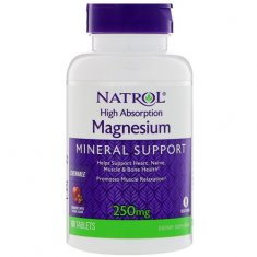 Magnesium High Absorption Natrol (60 таблеток) магний