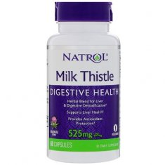 Milk Thistle Natrol (60 капсул) экстракт расторопши