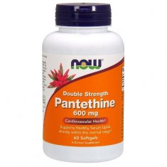 Pantethine Double Strength NOW (60 капсул) пантетин
