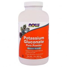 Potassium Gluconate Pure Powder NOW (454 г) глюконат калия