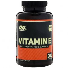 Vitamin E Optimum Nutrition (200 капсул) витамин E