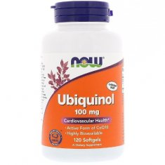 Ubiquinol NOW (120 капсул) убихинол